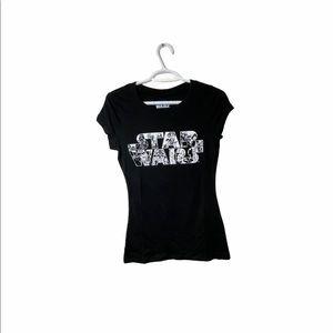 NWOT Star Wars Black Women's Tshirt
